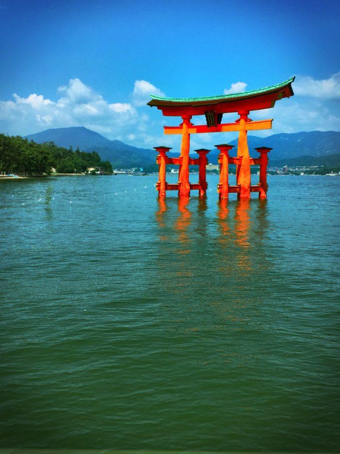 Miyajima Ootorii Tori Gate