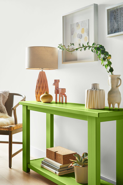 Pantone Greenery DIY Table
