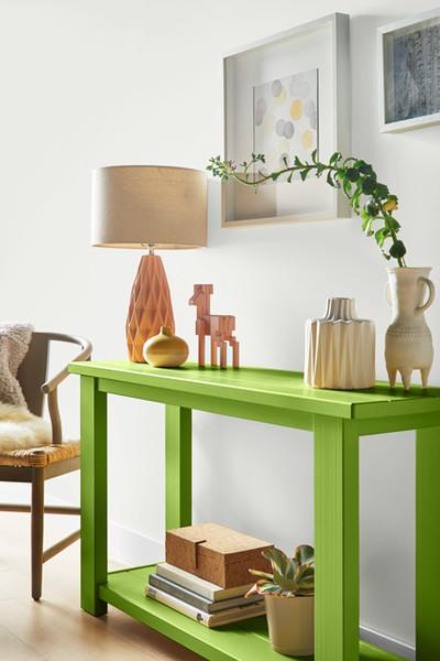 Pantone Greenery DIY Table